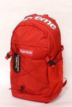 Boys' Accessories Supreme Fw18 Backpack School Bag Box Logo Good Heat Preservation