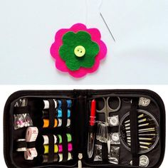 Easy stitch. 👌  PORTABLE & LIGHTWEIGHT KIT. Convenient sewing kit for mending rips, tears, holes, unraveled hems, missing buttons, and more. The entire kit opens up flat for your every convenience. Our sewing kit contains all the essentials you could ever need, in any situation. Perfect as a set if you're on vacation or traveling for business. 100% ABSOLUTE SATISFACTION GUARANTEE & 100% 30 DAY MONEY BACK GUARANTEE.