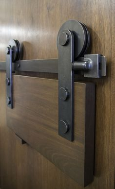 The Sun Valley Bronze barn door track has been awarded the Decorative Plumbing and Hardware Association Innovative Hardware Product of the Year.