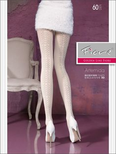ARTEMIDA 60den. Superbe collant glamour, chic et confortable, épais, opaque et chaud.