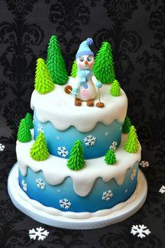 Winter cake on Cake, the Corriere della Sera's blog (Italy)
