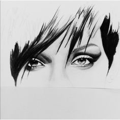Rihanna work in progress #art #sketch #carriejanesart #drawing