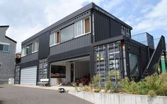 15 Unexpectedly Cool Shipping Container Garage Conversion Plans & Ideas