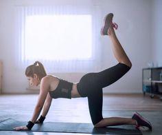 30-Tage-Po-Challenge: Leg-Lift