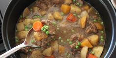 This is an easy, infinitely adaptable recipe that gets its sauce's extra-rich taste from the Guinness.  Root vegetables are a staple of Irish cooking and this stew is packed with them.  It is twice as good the second day, and can be covered with a pie or biscuit crust to make a delicious pie, so doubling the recipe is wise. If you really think you need more meat, or just want more meat, that can be increased in the straight recipe, but I think less is better.