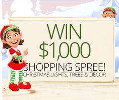 Christmas Lights Shopping Spree
