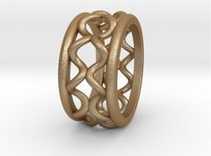 Check out Rln0009 by marraz85 on Shapeways and discover more 3D printed products in Rings.