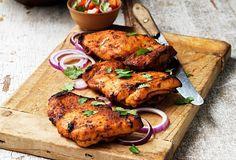 Kuře tandoori - recept. Přečtěte si, jak jídlo správně připravit a jaké si nachystat suroviny. Vše najdete na webu Recepty.cz. Tandoori Chicken, Food And Drink, Gluten, Ethnic Recipes, Baked Chicken, Cooking Recipes, Key Lime, Indian Cuisine