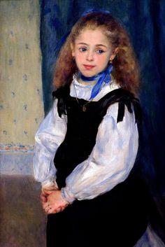 Pierre Auguste Renoir, Portrait of Mademoiselle Legrand, 1875.