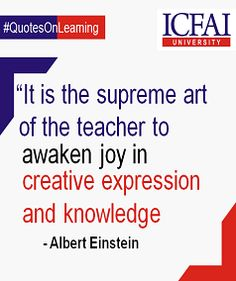 It is the teacher who can make learning a pleasurable experience.  #Learning #Mentoring #QuotesOnLearning