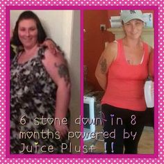 Juice plus amazing results