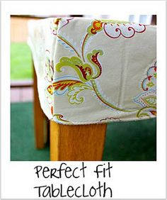 Pefect fitting table cloth