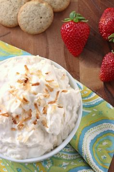 Pina Colada Dip | Cooking on the Front Burner