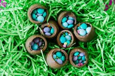 candy filled eggs