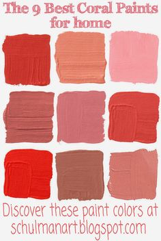Merveilleux Coral Color | Discover The Best Coral Paint Colors For Home At Http://