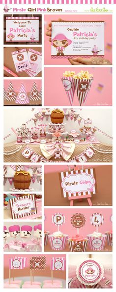 Like the marshmallow pirates...could work with cake pops too.