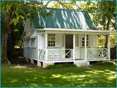 vacation rental cottage in Barbados - sleeps 2- 3 and has a bathroom.  Ideal for teens but I would live here.