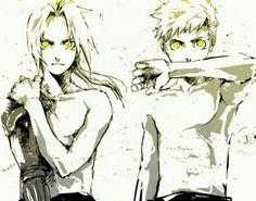 Edward and Alphonse Elric