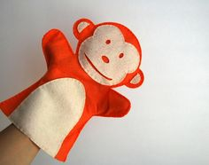 A wonderfully playful felt monkey puppet by Maria Palito exclusively for Tumblewalla! Hand-made with love, and a perfect complement to our animal rompers, bodysuits or shirts. And best of all – it's good for baby and the earth – it's eco-friendly, non-toxic, and non-allergic made from recycled plastic bottles. #monkeytoy $14