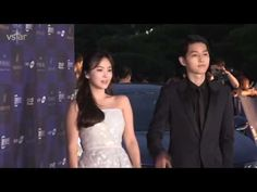 All picture very cute of Song Jong Ki & Song Hye Kio couple - 송중기 & 송혜교 커플의 모든 사진 - YouTube