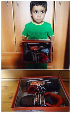 Малкият Стоянчо си има вече маратонки с любимия му герой Маккуин! И това благодарение на Даринка Кафалиева, която ги спечели 🎁 от седмичната Томбола на онлайн магазин за детски обувки Perfection!  Участвайте и печелете! 🎁 ✨ :) ----> http://perfection.bg/