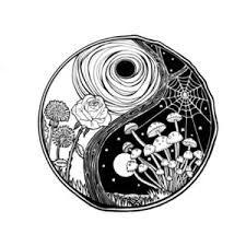 Resultado De Imagen De Yin Yang Tumblr Drawing Tattoo Yin