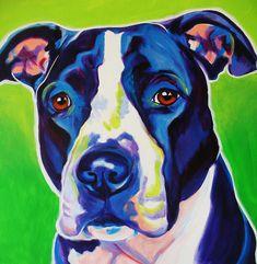 Pit Bull - Sadie Painting