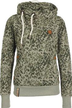Amazon.com  Naketano Darth Hase Hoodie Hoody Sweater Damen Womens(Purgeru  Melange,L)  Clothing 6aa3d1af31