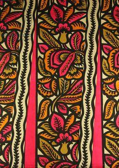 Textile Design, 1968 (tempera on paper)