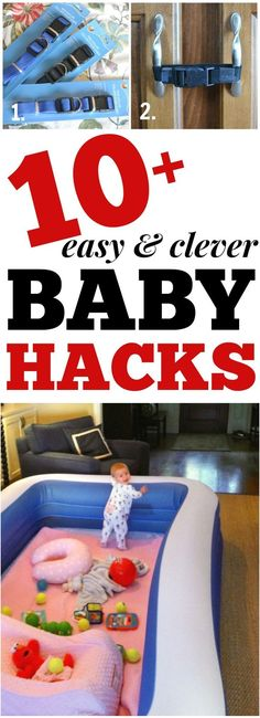 I can't believe I have never thought of these BABY HACKS!