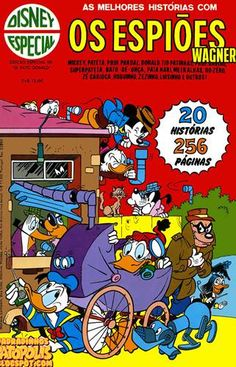 Disney Especial - 024 : Os Espiões