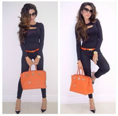 Hermes Birkin Look by Leyla Milani (may 5)