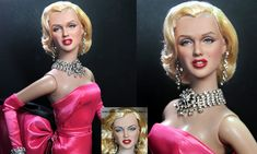 Marilyn Monroe custom doll repaint by Noel Cruz by ~noeling on deviantART