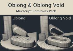Oblong and Oblong Void Primitives | ScriptSpot