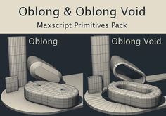 Oblong and Oblong Void Primitives | ScriptSpot
