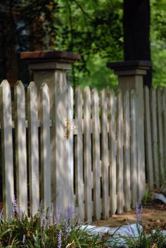 Picket Fence from West of the Moon Writer's Retreat by Lafayette Wattles, via Behance