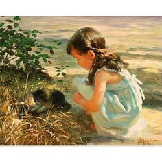 Painting Emmanuel Garant Konstantin Razumov Vladimir Volegov