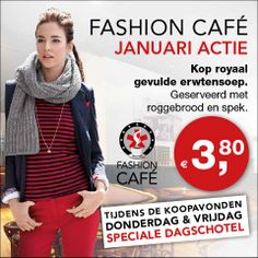 Maand actie januari 2014 #Koopmanmode #Fashioncafe