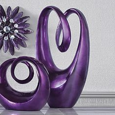 Tall Purple Sculpture from Ginny's ®