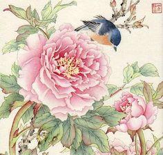 Daily Paintworks - Jinghua Dalia