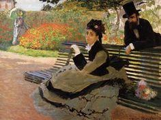 Monet, The Bench