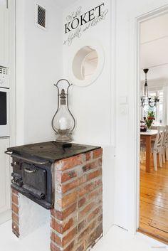 Swedish wood cooker - vedspis - houtfornuis.