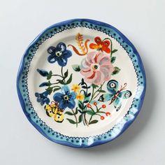 Natalie Lete Floral Plate $10.00 [$24.00]