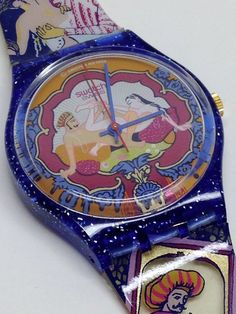 Vintage Swatch Watch Sex Teaze GN136 1994 Kama Sutra Sexy Adult Sparkles Tease #Swatch #Casual