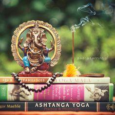 i love ashtanga.  i love ganesha