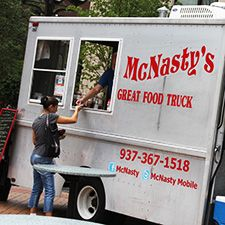 McNasty's Food Truck Serves Up Variety - I've known Richard and Cathy Bell for many years and was thrilled when they moved back to Dayton OH last year, reviving the McNasty's brand on their food truck. #DaytonFood