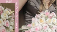 Wedding bouquetPAPER FLOWERS by moniaflowers on Etsy