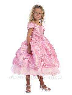 FOUND IT!! THE PERFECT DRESS. (oh. dear. lord.)    Flower Girl Dress Style 5527 - SALE Turquoise size 6 (1 pc available) $39.99