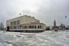 Hangon rautatieasemalla