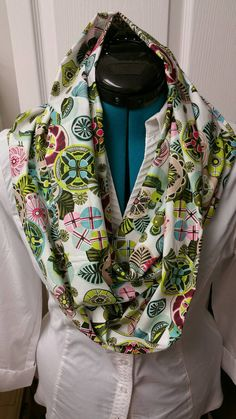 Check out this item in my Etsy shop https://www.etsy.com/listing/229520824/lightweight-cotton-infinty-scarves-great